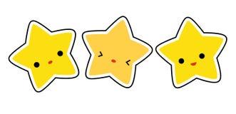 stjärnastjärnor Arkivfoto
