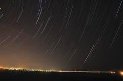 StjärnaTrails Arkivbilder