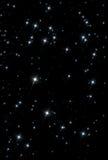 Stjärnautrymmebakgrund Arkivbild