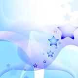 Stjärnavektorbakgrund Royaltyfria Bilder