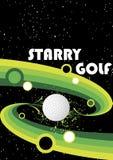 Stjärnklar golf Royaltyfri Fotografi