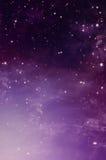 Stjärnklar himmel, bakgrund Royaltyfri Bild