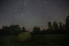 Stjärnljusnatt Arkivfoto
