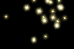 stjärnor för bakgrundsfractalillustration Royaltyfri Foto