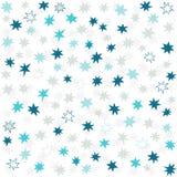 Stjärnor för marin för blåa grå färger smutsiga små Royaltyfri Fotografi
