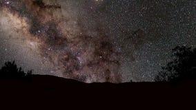 Stjärnor för natthimmel arkivfilmer