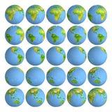 stjärnor för planet för bakgrundsjord fulla jordklot gammal värld för illustrationöversikt Fotografering för Bildbyråer