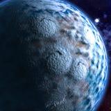 stjärnor för planet för bakgrundsjord fulla Fotografering för Bildbyråer