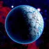 stjärnor för planet för bakgrundsjord fulla Royaltyfri Foto