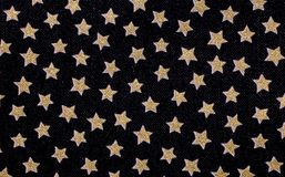 Stjärnor i det svarta tyget Royaltyfri Bild