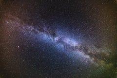 Stjärnor i nattskyen Fotografering för Bildbyråer