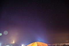 Stjärnor i Thailand Royaltyfri Fotografi