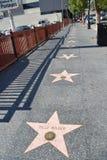 STJÄRNOR - Los Angeles Royaltyfri Fotografi