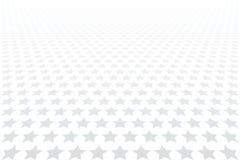 Stjärnor mönstrar Minska perspektivsikt Vit texturerad bakgrund royaltyfri illustrationer