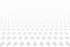 Stjärnor mönstrar Minska perspektivsikt royaltyfri illustrationer