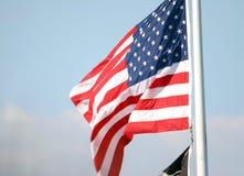 STJÄRNOR OCH BAND, USA-FLAGGAN Arkivbild