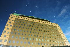 Stjärnor på daghimlen Fotografering för Bildbyråer