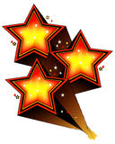 stjärnskott tre Royaltyfri Fotografi