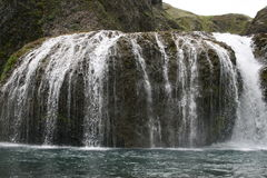Stjornarfoss Waterfall Royalty Free Stock Photo