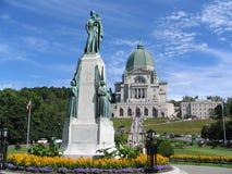 StJoseph-Rhetorik- und StJoseph-Monument, Montreal Stockbilder