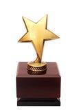 Stjärnautmärkelse Fotografering för Bildbyråer