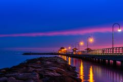 StKilda Pier Stock Photography