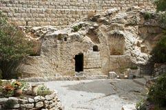 Ställe av uppståndelsen av Jesus Christ Arkivfoto