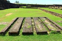 Ställe för artillerikärnor Royaltyfri Fotografi
