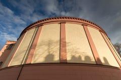 Stludwig教会达姆施塔特德国 库存照片