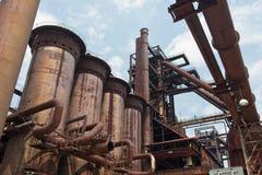 stålverk Fotografering för Bildbyråer
