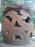Тайская stly испеченная глина стоковая фотография