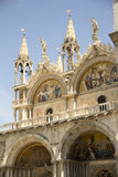 StMarks Kathedrale in Venedig Lizenzfreies Stockfoto