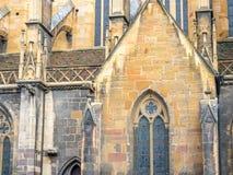 StMartin教会在科尔马,法国 库存图片