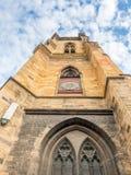 StMartin教会在科尔马,法国 免版税库存照片