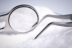 Stmatology tools. Stomatology equipment for denta health care Royalty Free Stock Images