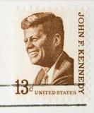 stämpeltappning 1967 för f John Kennedy Royaltyfri Fotografi