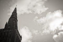 StMungo katedra Glasgow, Szkocja, rocznik Zdjęcia Stock