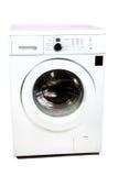 stäng maskinen som skjutas upp tvätt Royaltyfri Foto