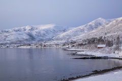 Stønnesbotn Fjord Royalty Free Stock Photo