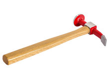 Stoßender und plashing Hammer Stockbild