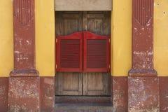 Stołówkowy drzwi Fotografia Royalty Free