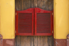 Stołówkowy drzwi Obraz Stock