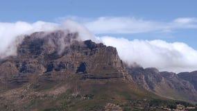 Stołowa góra, przylądka miasteczko zbiory wideo