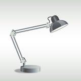 Stołowa lampa ilustracji