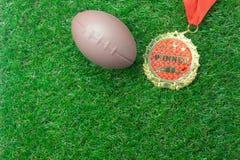 Stołowa odgórnego widoku wizerunku powietrzna piłka nożna lub sezonu piłkarskiego tło Zdjęcie Stock