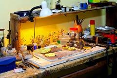 stołowa praca Obrazy Stock