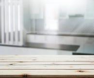 Stołowego wierzchołka I plamy wnętrza tło Zdjęcie Royalty Free