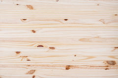 Stołowego wierzchołka tekstura sosnowego drewna Odgórny widok lub tło Obrazy Royalty Free