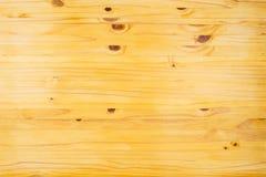 Stołowego wierzchołka tekstura sosnowego drewna Odgórny widok lub tło Obraz Royalty Free