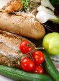 stołowi ćwieków warzywa Fotografia Stock
